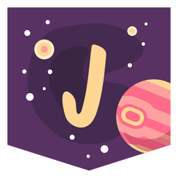 Espacio alfabeto j banner