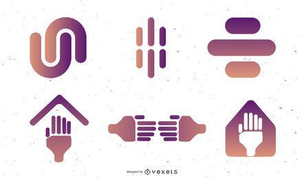 Símbolos abstratos