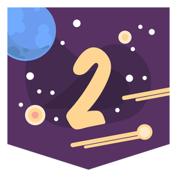 Space number 2 banner