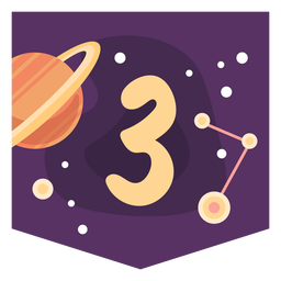 Space number 3 banner