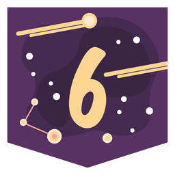 Space number 6 banner
