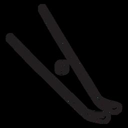 Sport-Sticks Puck Ausrüstung Schlaganfall