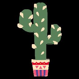 Tall plant cactus illustration
