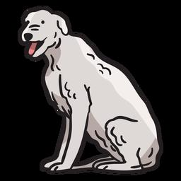 Terriertierhund-Irland-Illustration