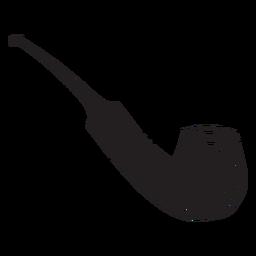 Cachimbo de tabaco preto
