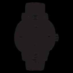 Assista acessório relógio preto