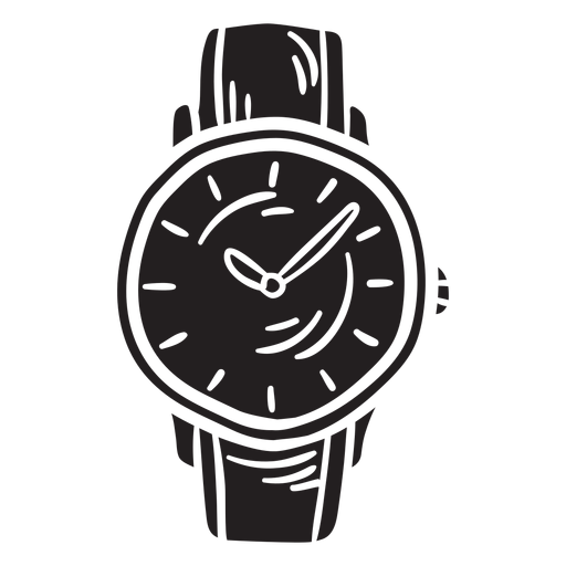 Reloj accesorio reloj negro Transparent PNG