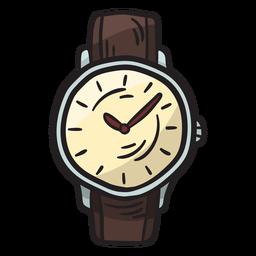 Ilustração tradicional acessório de relógio