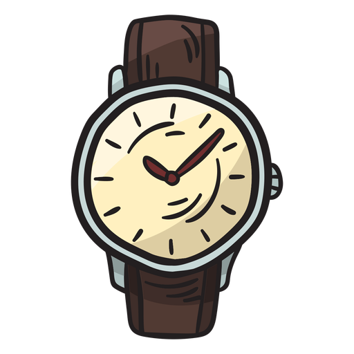 Watch accessory traditional illustration Transparent PNG