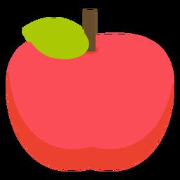 Maçã fruta maçã plana
