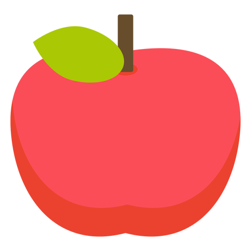Apfelfrucht flacher Apfel Transparent PNG