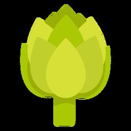 Alcachofa vegetal plana
