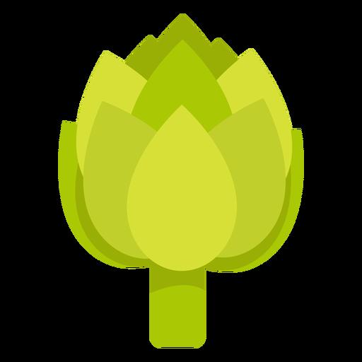 Artichoke vegetable flat Transparent PNG