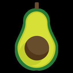 Avacado de fruta plana