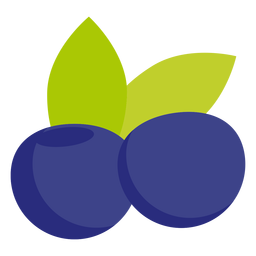 Blueberry fruit flat