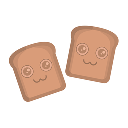 Bread sticker flat