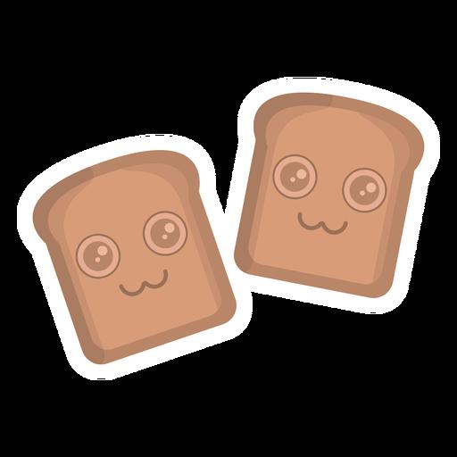 Bread sticker flat Transparent PNG