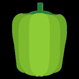 Pimiento vegetal plano