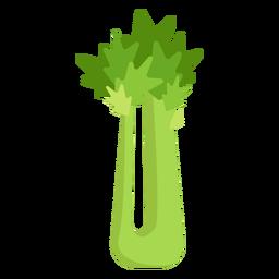 Vegetal de aipo plano