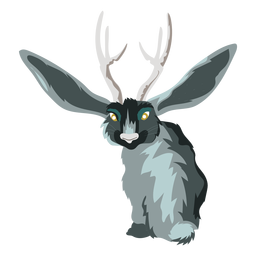 Creature deer rabbit icon