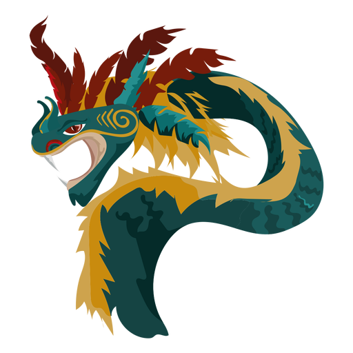 Icono de dragón de criatura Transparent PNG