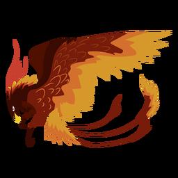 Icono de águila de criatura