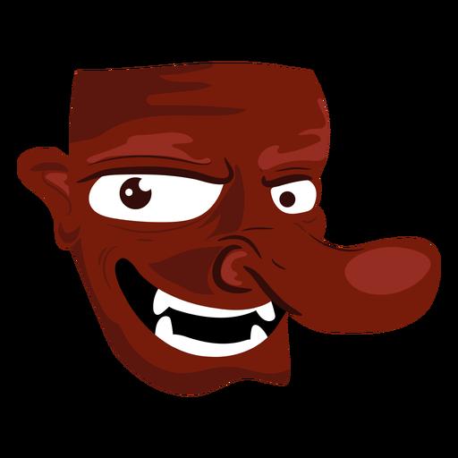Creature evil mask icon