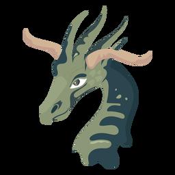 Criatura jirafa como icono