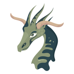 Girafa de criatura como ícone
