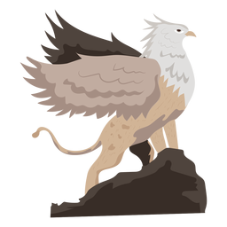 Icono de grifo de criatura