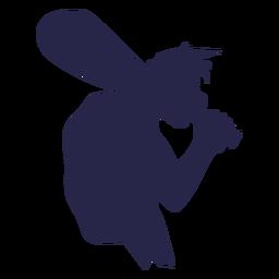 Creature large man silhouette