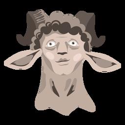 Ícone de criatura homem ovelha
