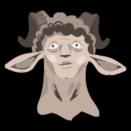 Creature sheep man icon