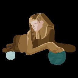 Ícone de esfinge de criatura