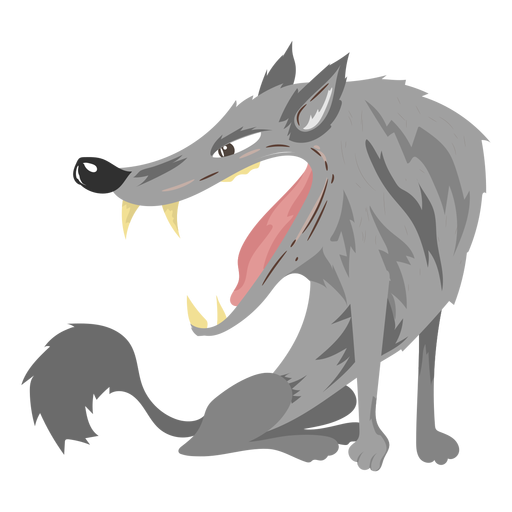 Creature wolf like icon Transparent PNG
