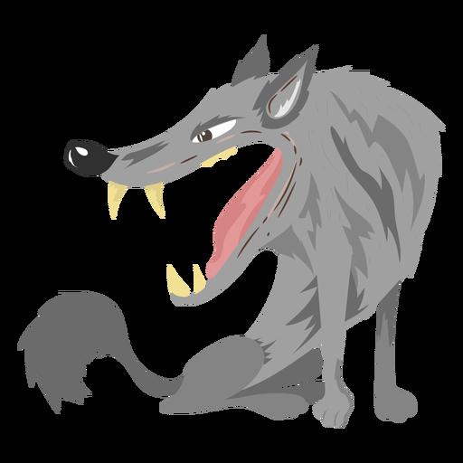 Ícone de criatura semelhante a lobo