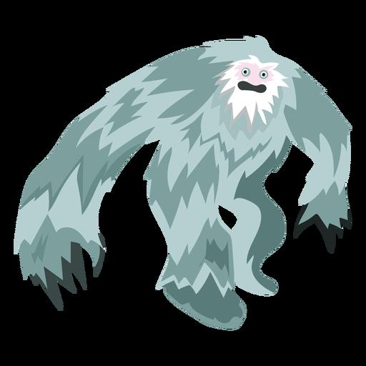Icono de yeti de criatura Transparent PNG