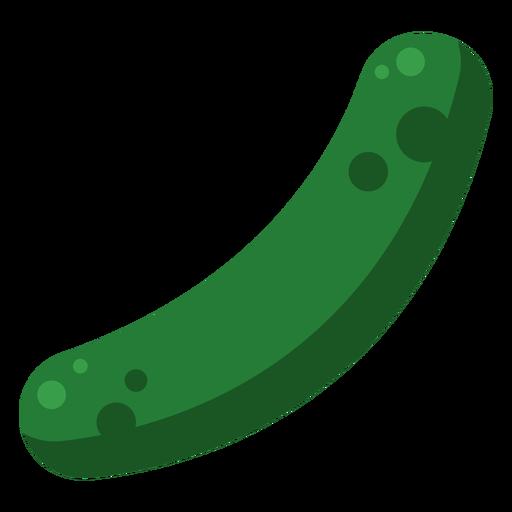 Cucumber vegetable single flat Transparent PNG