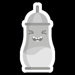 Flask sticker flat
