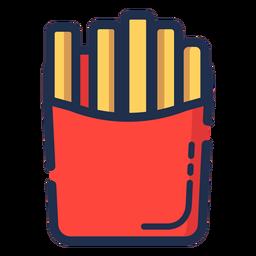 Icono de papas fritas