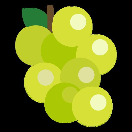 Grapes fruit flat Transparent PNG
