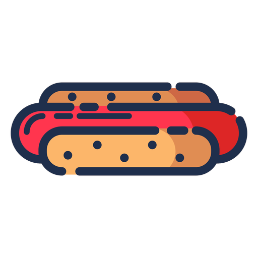 Icono de hot dog hot dog Transparent PNG