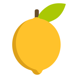 Limão fruta plana