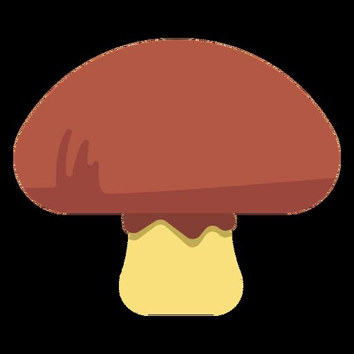 Comida de hongos plana Transparent PNG