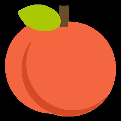 Orange fruit flat Transparent PNG