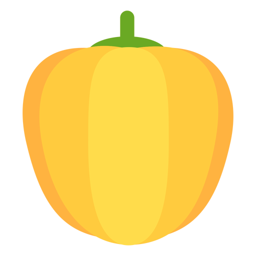 Paprika vegetable flat Transparent PNG
