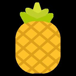 Fruta de piña plana