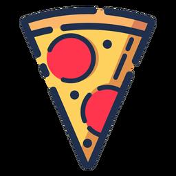 Icono de rebanada de pizza