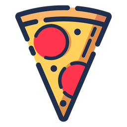 Tasty Pizza Icon Transparent Png Svg Vector File