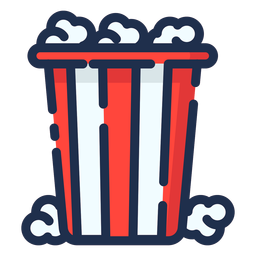 Icono de palomitas de maíz